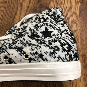 Converse All Star Black & White High Top Sneakers